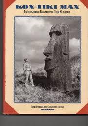 Kon-Tiki Man-Thor Heyerdahl with Christopher Ralling book
