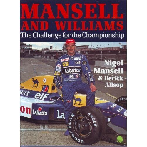 Mansell & Williams-Nigel Mansell & Derek Allsop book