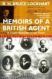 Memoirs of a British Agent-R. H. Lockhart book