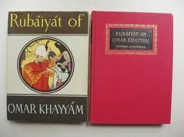 Rubaiyat of Omar Khayyam-Edward Fitzgerald book