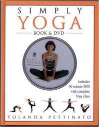 Simple Yoga-Yolanda Pettinato book & DVD