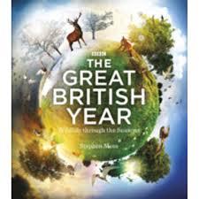 The Great British Year Wildlife Through the Seasons-Stephen Moss book
