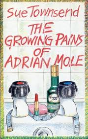 The Growing Pains of Adrian Mole-Sue Townsend book