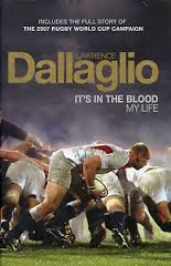 It's in the Blood My life-Lawrence Dallaglio book