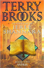 The Voyage of the Jerle Shannara Book 2 Antrax-Terry Brooks book