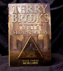 The Voyage of the Jerle Shannara Book 3 Morgawr-Terry Brooks book