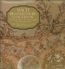Bach Brandenburg Concertos No 4-5-6-The Virtuosi of England Vinyl