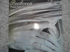 Beethoven Piano Concerto No 3 in C Minor Opus 37-Rudolf Firkusny with The Philharmonia Orchestra Vinyl