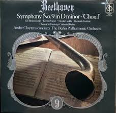 Beethoven Symphony No 9 in D Minor-Choral-The Berlin Philharmonic Orchestra Vinyl
