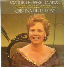Favourite Operetta Arias-Cristina Deutekom Vinyl