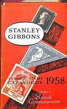 Stanley Gibbons Priced Postage Stamp Catalogue 1958