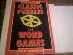 The Book of Classic Puzzles & Word Games-Gyles Brandreth book