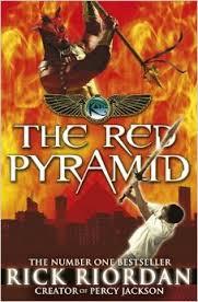 The Red Pyramid - Rick Riordan book