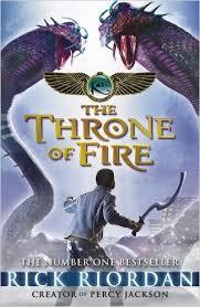 The Throne of fire - rick riordan book