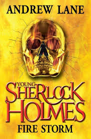Young Sherlock Holmes Fire Storm-Andrew Lane book