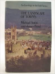 Archaeology In The Field Series The Landscape Of Towns - Michael Aston And James Bond book
