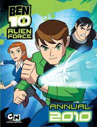 Ben 10 Alien Force Annual 2010 book