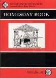 DOMESDAY BOOK - JOHN MORRIS BOOK