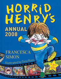 Horrid Henry's Annual 2008-Francesca Simon book