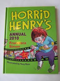 Horrid Henry's Annual 2010-Francesca Simon book