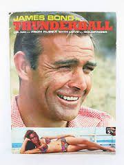 James Bond In Thunderball Dr.No... From Russia With Love... Goldfinger. book