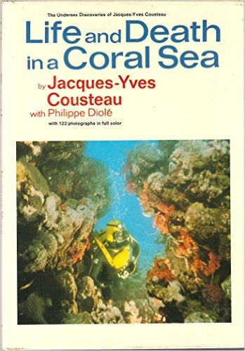 Life & Death in a Coral Sea-Jacques-Yves Cousteau book