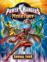 Power Rangers Mystic Force Annual 2008 book