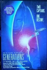 Star Trek Generations - J.M. DILLARD BOOK