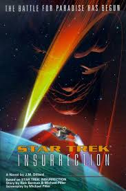 Star Trek Insurrection - J.M. Dillard BOOK