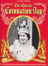 The Queens Coronation Day(Facsimile Edition)-Beverley Nichols book