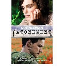 Atonement - Ian McEwan book