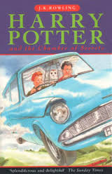 Harry Potter And The Chamber Of Secrets - J.K.Rowling book