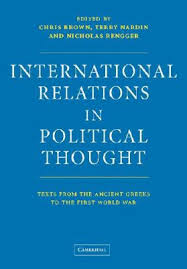 International Relations In Political Thought - Brown Nardin Rengger book