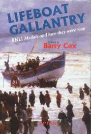 Lifeboat Gallantry-Barry Cox book