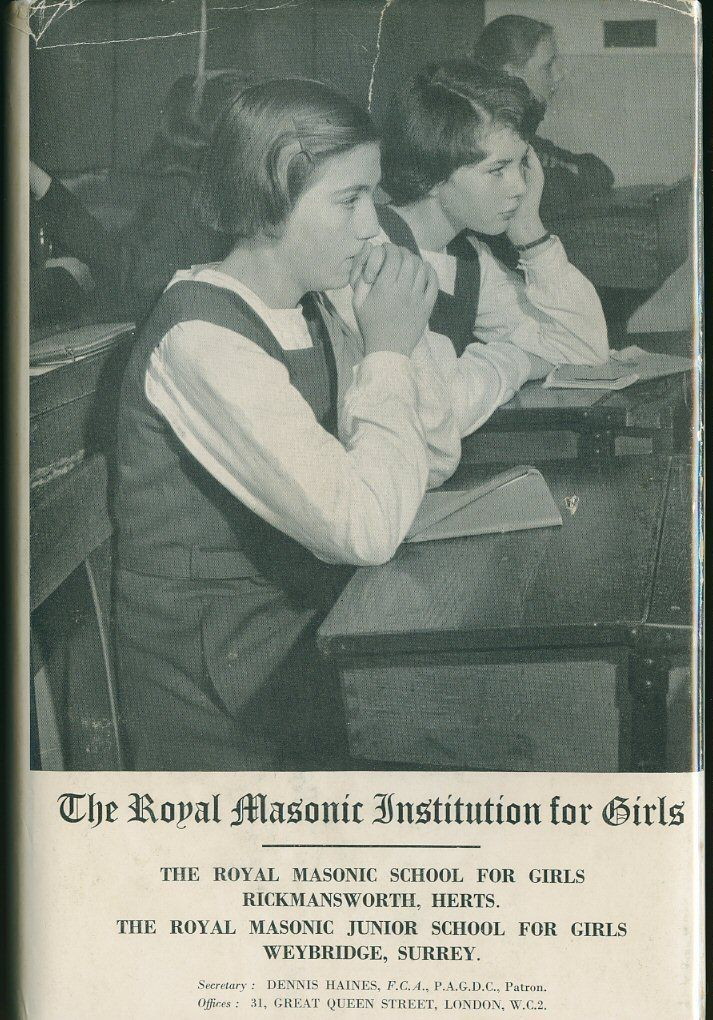 The Royal Masonic Institution for Girls book