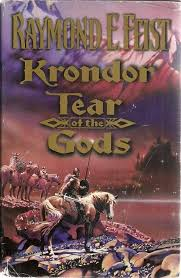 Third in the massively successful new Krondor series inspired by Feist's global bestselling computer game Return to Krondor. A DROP IN THE OCEAN? A raid upon the high seas signals an attack of unprecedented magnitude by the forces of darkness. For the holiest of holies, the Tear of the Gods has been lost to the Temple of Ishap. After a raid planned by Bear, one of the most brutal pirates to sail the Bitter Sea, goes dramatically wrong, the colossal gems sink below the waves. So begins a story of the Tear of the Gods, the most powerful artifact known to the Temples of Midkemia. For it allows the temples to speak with their gods. Without it, they are lost for a decade, until another gem is formed in the distant mountains. Squire James, William, and Jazhara, new court magician, must seek out the location of this gem, with Brother Solon, a warrior priest of Ishap, and Kendaric, the sole member of the Wreckers' Guild with the power to raise the ship. They are opposed by the minions of Sidi, servant of the Dark God, who seeks to possess the Tear for his own ends, or to destroy it, denying it to the forces of light. This third tale in The Riftwar Legacy is a breathless race for a priceless treasure. It's a race against time, against the myriad sinister and competing evil forces desperate for the all-powerful prize, and ultimately against the fundamentals of nature, which in Midkemia can be as formidable as the Gods themselves book
