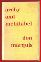 Archy & Mehitabel-Don Marquis book