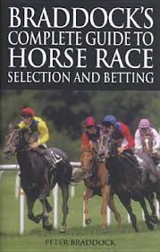 Braddock's Complete Guide to Horse Race Selection & Betting-Peter Braddock book