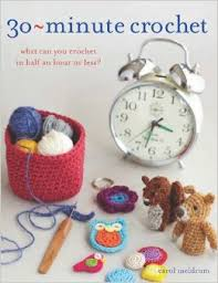 30 Minute Crotchet-Carol Meldrum book
