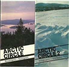 Arctic Circle- Rovaniemi- Nuorgam book
