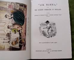 Ask Mamma - P.S. Surtees book