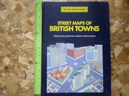 Street Maps Of British Towns Yellow Pages Guide. book