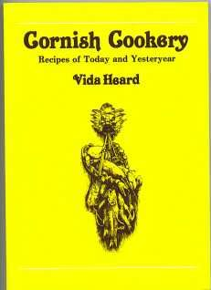 Cornish Cookery - Vida Heard book