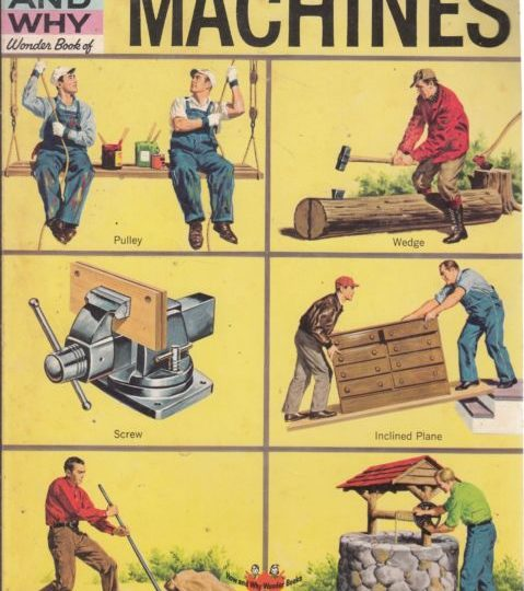 The How and Why Wonder Book of Machines - Jerome J. Notkin book