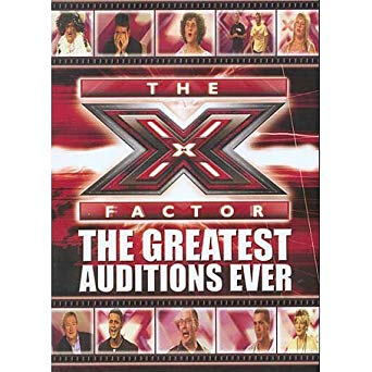 The XFactor The Greatest Auditions Ever. book